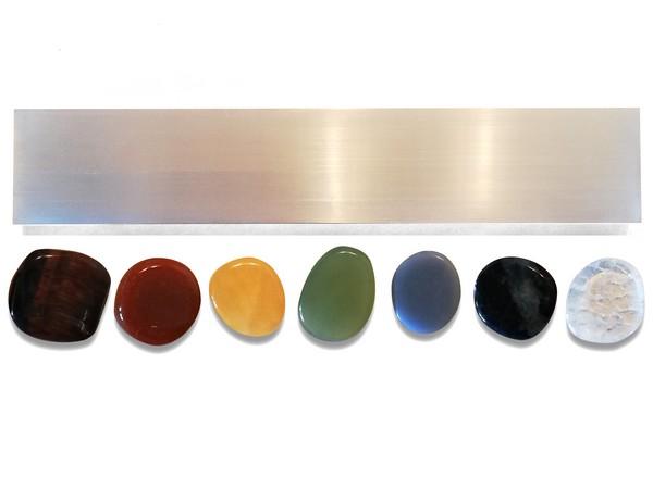 A készlet kövei különálló darabok, tetszés szerinti sorrendben is felállíthatóak, vagy külön-külön is használhatók